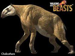 7. Chalicotherium