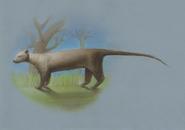 Giant Fossa (Cryptoprocta spelea) restoration