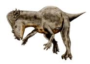 Pachycephalosaurus restoration