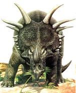 Styracosaurus John Sibbick
