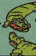 Dexter's Lab Comic Alligators