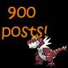 900 posts