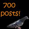 700 posts