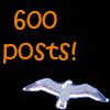 600 posts