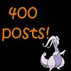 400 posts