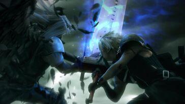 Cloud VS Sephiroth