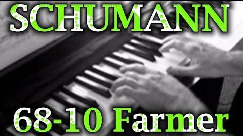 Robert SCHUMANN- Op. 68, No. 10 (The Happy Farmer)