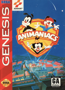 Genesis Animaniacs Cover