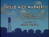 Episode 13: Hello Nice Warners/La Behemoth/Little Old Slappy from Pasadena