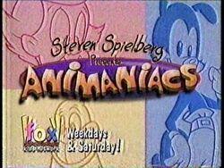 Animaniacs on Fox Kids