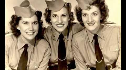 The Andrews Sisters - Boogie Woogie Bugle Boy