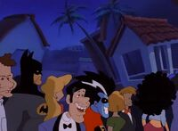 Freakazoid at the New Year's party