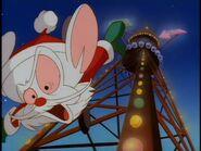 Santa Brain falls