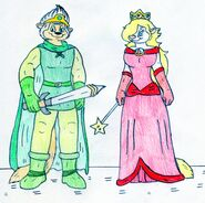 Marty and Minerva - Knight and Princess
