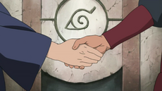Madara and Hashirama form an alliance
