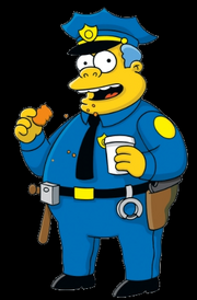 Simpsons character