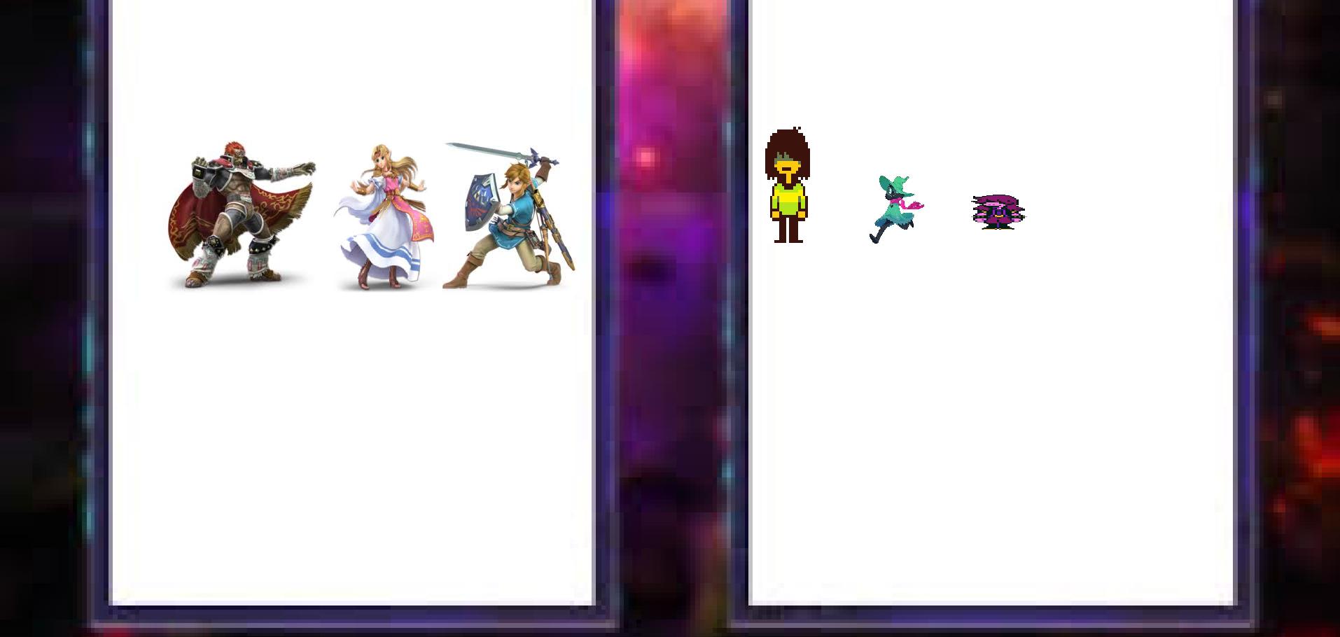 Deltarune Vs Legend Of Zelda Total War   Animation Battles