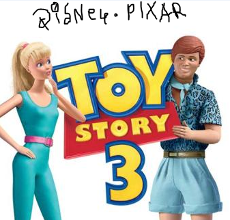 Image Toy Story 3 Offcial Poster 13 Barbie And Ken Png