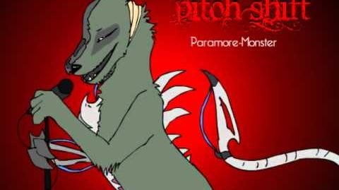 Pitch shift PARAMORE-MONSTER