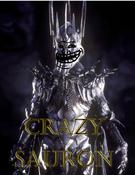 Crazy Sauron Poster