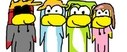 Penguins characters