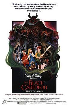 The Black Cauldron poster