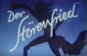 The troublemaker der storenfried german title card