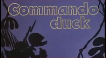 Commando Duck title card