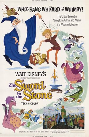 The Sword in the Stone poster 1963
