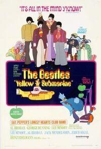 Beatles Yellow Submarine move poster