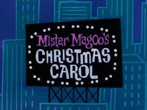 Mister magoo's christmas carol title card