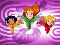 Totally Spies titlecard-Characters