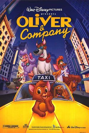 Oliver and Company poster 2