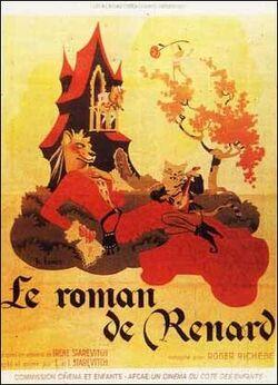 Roman renard poster