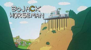 Bojack horsman title card