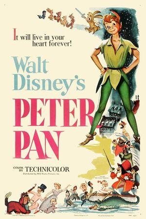 Peter pan disney poster