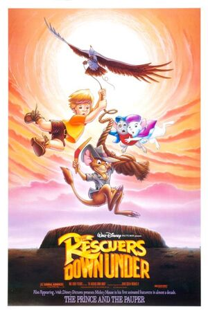 The Rescuers Down Under Movie Poster