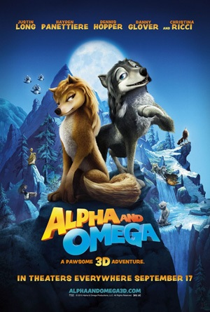 Alpha and Omega 2010 film poster