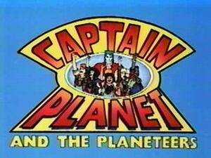 Captain Planet and the Planeteers title card