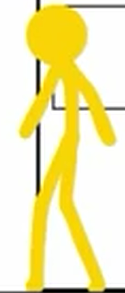 Yellow Stick Figure