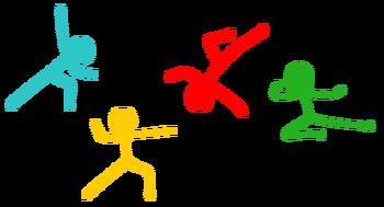 Fighting Stick Figures