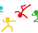 Fighting Stick Figures