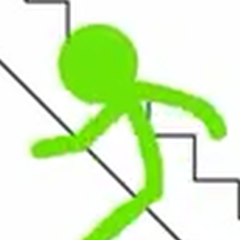 Green Stick Figure