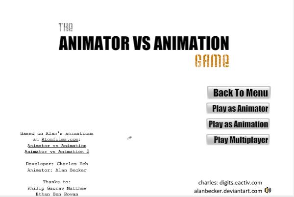 animator vs animation game