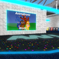 2018 Lobby Animatronic World Roblox Wiki Fandom