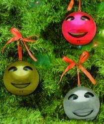 singing christmas ornaments