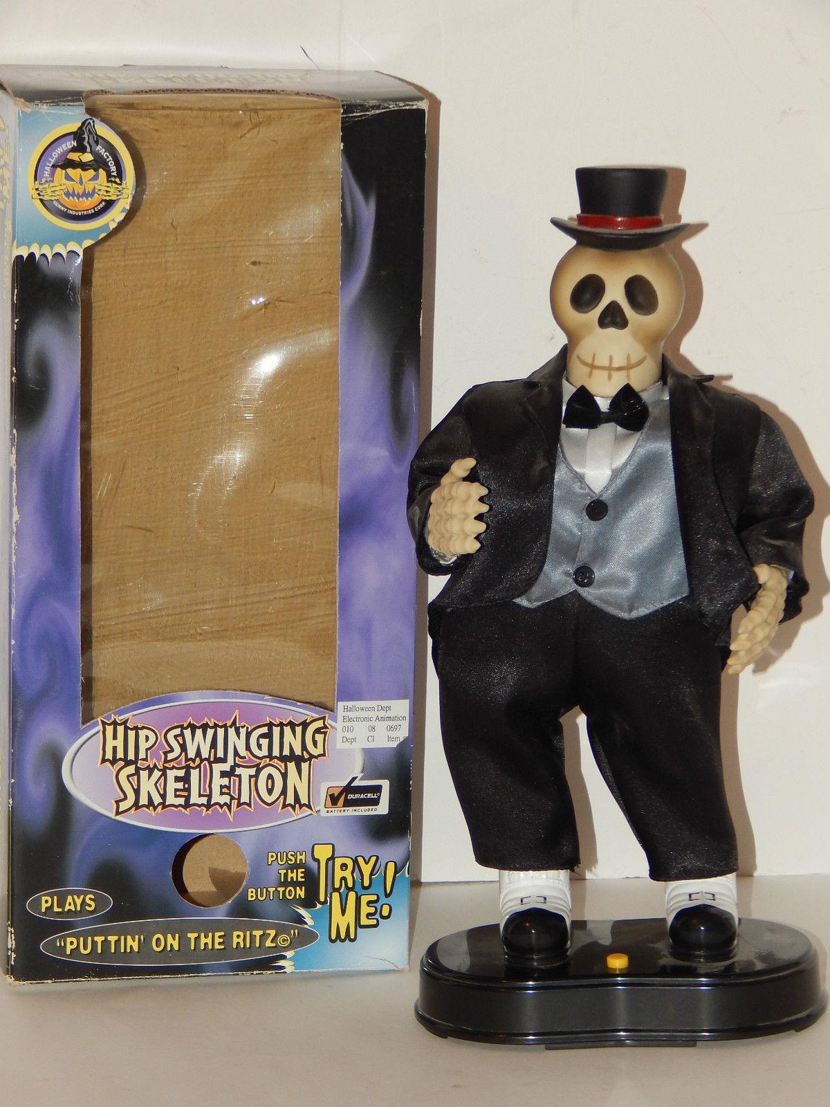 Image animated hip swinging skeleton halloween monster for Soft furnishing wikipedia