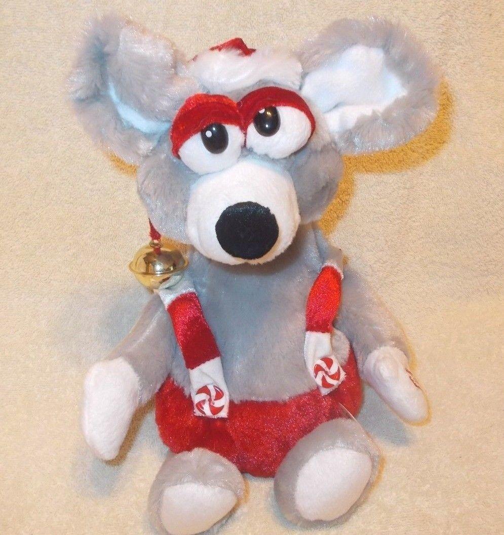 dan dee plush animated singing christmas mouse plays we are santas elves - Singing Christmas Toys