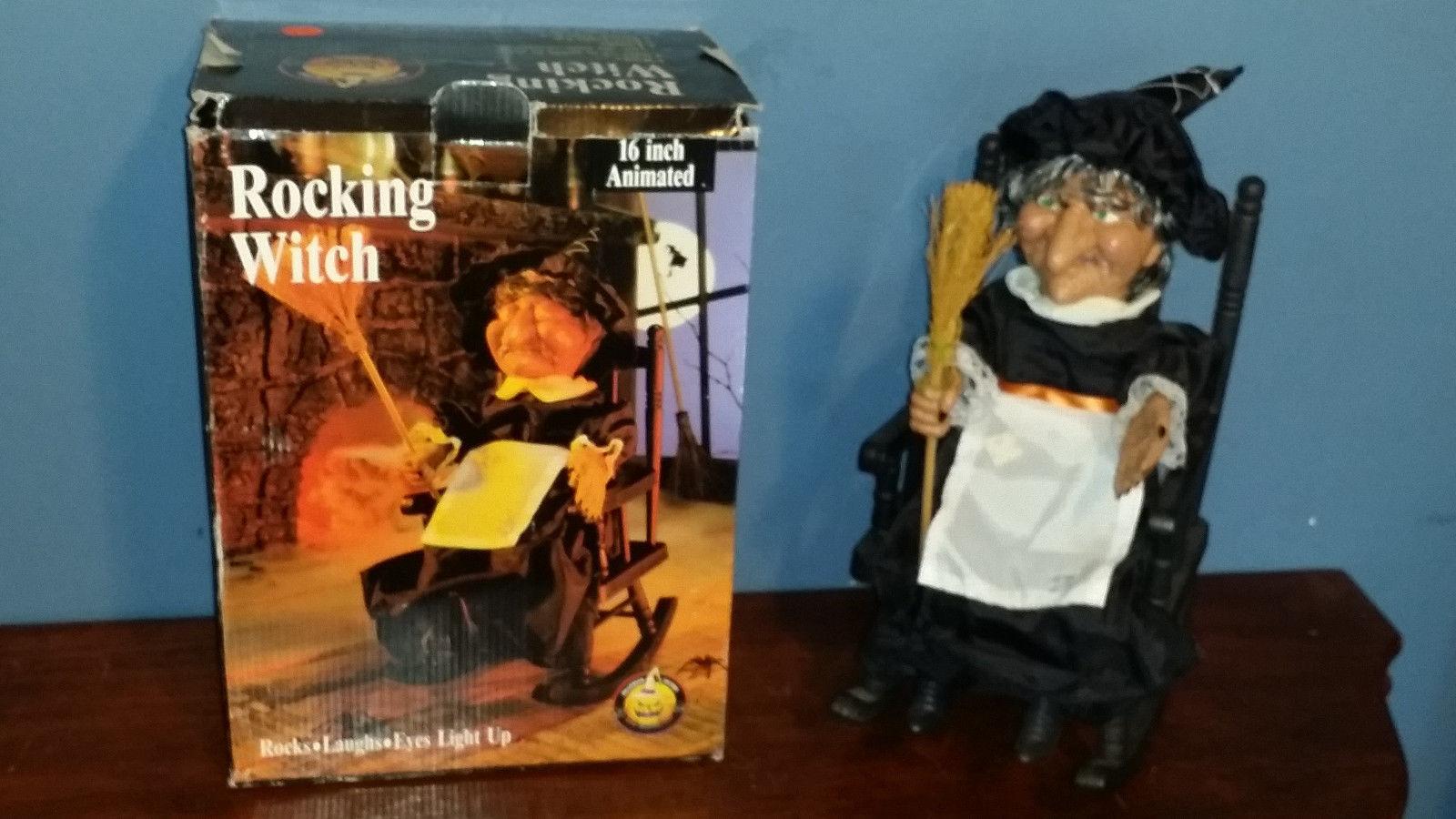 Tremendous Rocking Witch Animatronic Wiki Fandom Powered By Wikia Bralicious Painted Fabric Chair Ideas Braliciousco