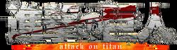Attack on titan logo